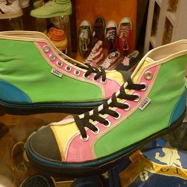 "vans - 「<used>80's vans GOTTHARD crazy color""made in USA"" size:US9(27cm) 19800yen」完売"