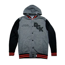 DGK - STAGGER VARSITY FLEECE (Black)