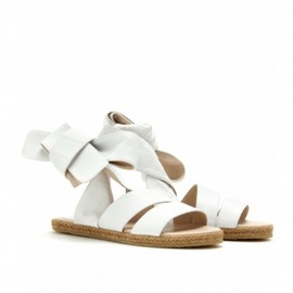 Chloe - 2013/CRUISE ■ Chloe ■LEATHER ESPADRILLES White 1