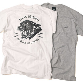 RELAX ORIGINAL® - Black Panther Pocket Tee