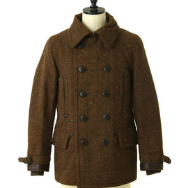 Nigel Cabourn - MILITARY P-COAT OLD CHECK