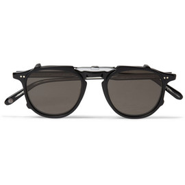 Garrett Leight California Optical Men's Brooks Matte Black Sunglasses