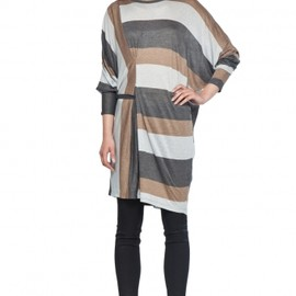 MM6 BY MAISON MARTIN MARGIELA - Long Sleeve Tunic in Light