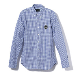F.C.R.B. - TEAM GINGHAM CHECK B.D SHIRT
