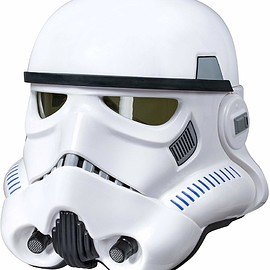 ハズブロ - Star Wars The Black Series Imperial Stormtrooper Electronic Voice Changer Helmet