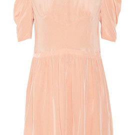 miu miu - Silk crepe de chine dress