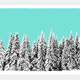 SNOWBLINDED - Winter Pines / Created in 2011