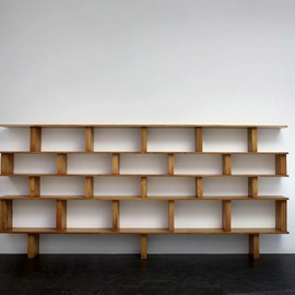 "Bookshelf  ""maison du mexique"", ca 1952"