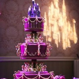 Disney - wedding cake