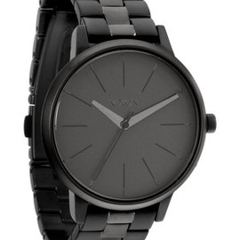 NIXON - The Kensington in Matte Black / Matte Gunmetal
