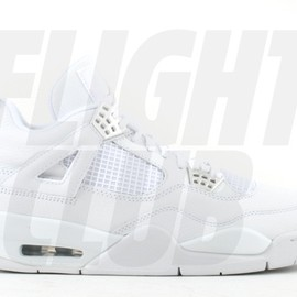 Nike - Air Jordan 4 Retro Chrome White Silver