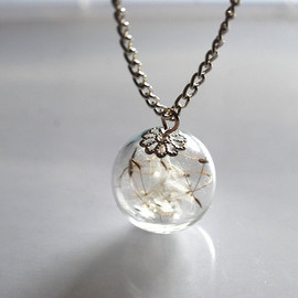 Natural Pretty Things - Dandelion Necklace