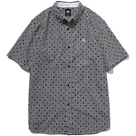 STUSSY - Dot Plaid Shirt