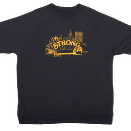 BBP, Strong City Records - STRONG CITY HALF SLEEVE SWEAT SHIRTS (OFFICIAL)