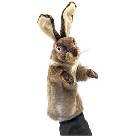 Folkmanis - Folkmanis Rabbit Stage Puppet