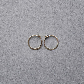 Melissa Joy Manning - Small Round Hoops