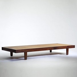George Nakashima - Black Walnut Backless Day Bed