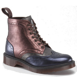 Dr Martens - Dr Martens Anthony Boot (Color: NAVY+PEWTER+CHERRY RED)