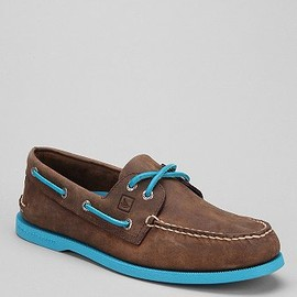 TOP-SIDER - Sperry Top-Sider 2-Eye Neon Boat Shoe