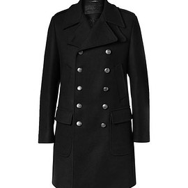 Dolce & Gabbana - Slim-Fit Double-Breasted Wool-Blend Coat