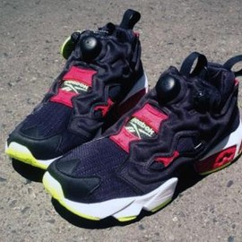 Reebok - REEBOK INSTA PUMP FURY BLACK/RED/GREEN