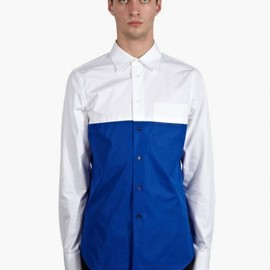 Marni - Men's Colour-Block Structured Cotton Shirt