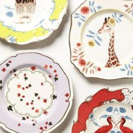 Natural World Dessert Plate - anthropologie.com