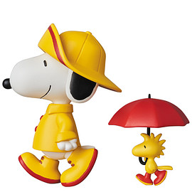 MEDICOM TOY - UDF PEANUTS シリーズ7 RAIN COAT SNOOPY & WOODSTOCK
