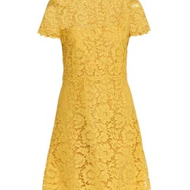 VALENTINO - Short-sleeved lace dress