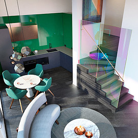 Tom Dixon - Score an Apartment Designed by Tom Dixon's Design Research Studio