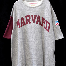 VOTE MAKE NEW CLOTHES - VOTE MAKE NEW CLOTHES // HARVARD ARCH TEE(GRAY)