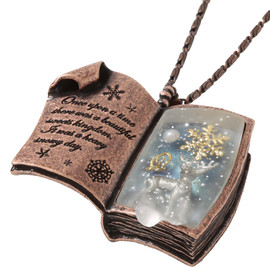 Q-pot - Sweet Winter Story Book Necklace