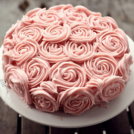 Birthday Rose Cake