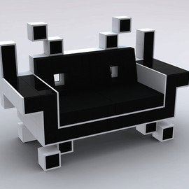 Retro Alien couch