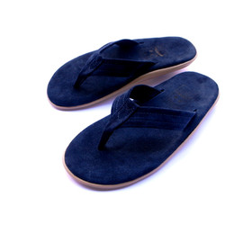 ISLAND SLIPPER - BLUE SUEDE