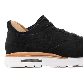 NIKE - Air Max 1 Royal - Black/Black/Summit White