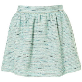 TOPSHOP - Co-ord Mint Boucle Skirt