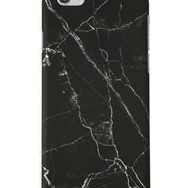 Queu Queu - Black Marble Case- Iphone 6