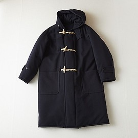 COMOLI - Wool duffle coat