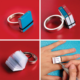Ana Cardim - Book Ring