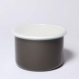 MARGARET HOWELL, NODA HORO - ROUND STORAGE S DK CHARCOAL