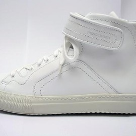 PIERRE HARDY - leather sneaker with fur