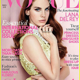 Condé Nast - Lana Del Rey  'British Vogue' March 2012