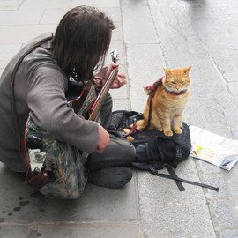 bob the busker and his master