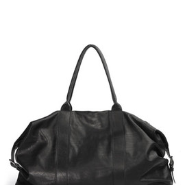ANN DEMEULEMEESTER - Leather Boston bag