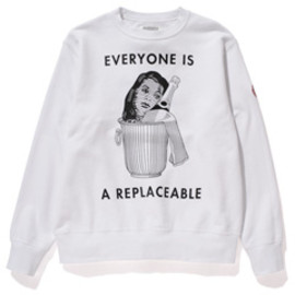 C.E - Replaceble Crew Sweat (white)