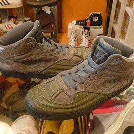 "airwalk - 「<used>90's airwalk NTS""HYDRA"" green""made in KOREA"" size:US9(27cm) 5800yen」完売"
