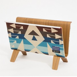 PENDLETON, MADE BY SEVEN -REUSE- - 【PENDLETON x MADE BY SEVEN -REUSE-】PLYWOOD MAGAZINE RACK