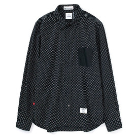 "Bedwin - L/S PIN DOT SHIRTS  ""TAILOR"""