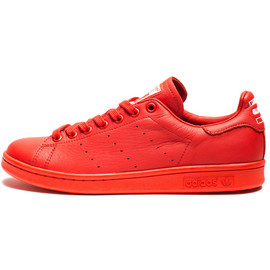 adidas originals - X PHARRELL STAN SMITH SOLID PACK (Red)